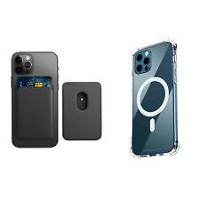 IPhone 12 Pro Max/Mini/Pro para Apple MagSafe cartera, funda protectora, funda transparente
