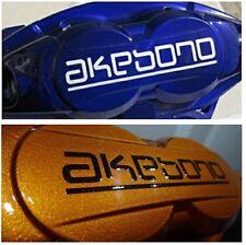 AKEBONO brake caliper Decals Stickers HI TEMP.