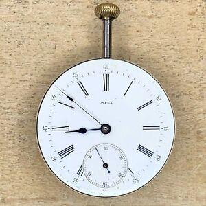 16s Omega Pocket Watch Movement - 1171545 - 17 Jewels