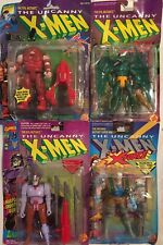 Marvel The Uncanny X-Men JUGGERNAUT , AHAB , CABLE , SAURON ToyBiz 1 , Lot Of 4