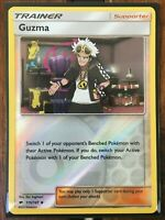 Pokemon Card TRAINER GUZMA REVERSE HOLO UNCOMMON 115/147 BURNING SHADOWS *MINT*