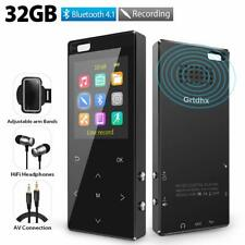 MP3 Player 32GB with Bluetooth 4.2, Hi-Fi Lossless Music Player with FM Radio,