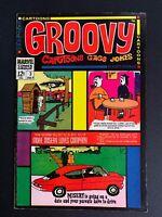 Groovy 🔥 # 3! Marvel Comics 1968 RARE HTF!