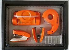 Stapler Tape Dispenser Punching Machine Staple Remover and 1000 staples Gift Set