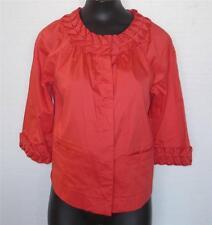 Very Nice Women's Simply Chloe Dao Blazer Top Blouse w/ Origami Pleat Sz X-Small