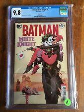DC Batman White Knight #8 Sean Murphy Variant Cover B CGC 9.8