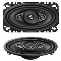 "Pioneer TS-A4670F 6""x4"" 4-Way Custom Fit Car Audio Speakers 210W VW Golf MK1,2,3"