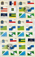 Brasil 1976-83 Mint And Used Postage Stamp Collection Duplicates Sets 1000+