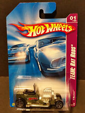 2008 Hot Wheels #125 Team Rat Rods 1/4 - T-Bucket - M6895 1L