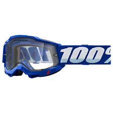 100 Percent Accuri Gen 2 Enduro Mens Goggles Mtb - Blue ~ Clear One Size