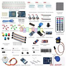 UNO R3 Starter Kit #1 Arduino 1602LCD Servo Ultrasonic Motor LED Relay RTC DIY