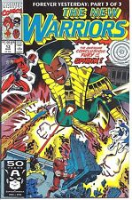 Marvel #013 - Aug 91 - The New Warriors -5.0 - Used