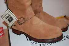 NIB Frye Mens John Addison Engineer Size 11 med $428 Boots Mens Fatigue USA made
