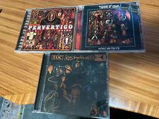Throne Of Chaos   TOC   3 CD Lot   All Albums   Pervertigo Loss Angeles Menace &