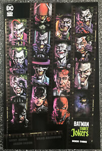 Batman: Three Jokers #3 1:450 Variant Cover INCLUDES ALL THREE PROMOTIONAL CARDS