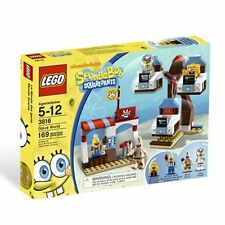 Lego Spongebob Squarepants 3816 GLOVE WORLD Patrick Sandy Ice Cream Vendor NISB