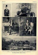 Zum Krieg in Ostasien J-tschk Kronprinz von Korea von Saldern Chin Pôm Yi...1904