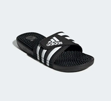 New Adidas Men's Adissage Slides Sandals Flip Flops Black - F35580
