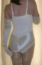 Marks & Spencer cream control body~teddy~playsuit shapewear size 38D