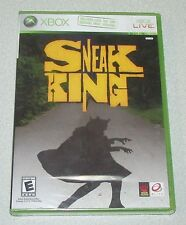 Sneak King for Xbox 360 Brand New! Factory Sealed!