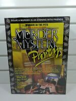 Murder mystery party game. Murder In The Pits Brand New Sealed BV Leisure