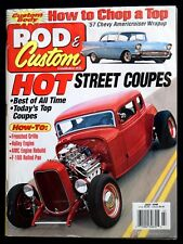 ROD & CUSTOM MAGAZINE - JULY 1999 - How To Chop  a Top