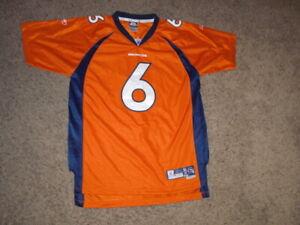 Denver Broncos Jay Cutler sewn Football Jersey youth XL Reebok