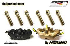 Suzuki GSXR 1000 K7 K8 Stainless joint bolt set Tokico front brake calipers