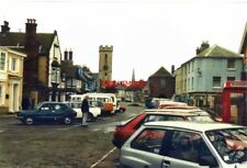 PHOTO  ISLE OF WIGHT ST JAMES STREET YARMOUTH IN 1988 WITH THE TOWER OF ST JAMES