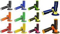 PRO GRIP 801 MOTOCROSS MX HANDLEBAR GRIPS ALL COLOURS HALF WAFFLE SOFT TOUCH