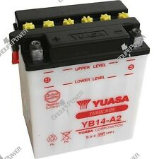 Batterie moto Yuasa YB14-A2 12V 14AH 134X89X166MM