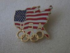 1996 ATLANTA OLYMPICS  USA pin badge