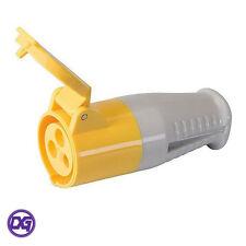 Silverline 16A Industrial Female Electrical Plug Socket 110V 16 Amp