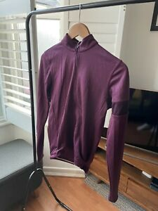 Genuine Rapha Long Sleeved - Jersey Purple - Size Small - USED