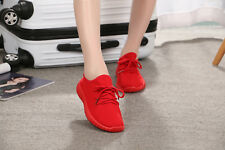 Flat Heel Women Running Athletic Sneakers Sock Breathable Outdoor Sports Shoes