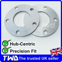 5MM ALLOY WHEEL SPACERS FOR BMW (5x120 / 72.6 PCD) HUB-CENTRIC SHIMS PAIR [2CX]