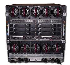 HP BL C7000 Blade Enclosure Chassis - 10x Fan, 6x PSU, 2x OA, 2x 1Gb Pass Thru