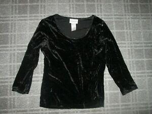 WORTHINGTON-LADIES VINTAGE T-shirt blouse top SIZE 8-10 party EVENING FORMAL