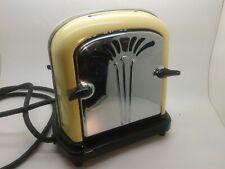 More details for extremely rare hmv burlington 1940s art deco vintage electric toaster - working