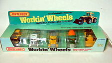 "Matchbox ""Workin' Wheels"" Giftset USA 1983 Baumaschnen"