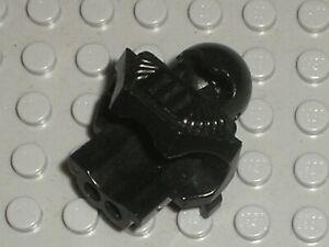 LEGO Black Headgear Helmet Underwater Aquashark 6089 Set 6104 5160 6155 6190