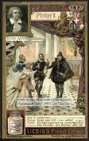 Alfieri Philipp II Italy Writer NICE  c1905 Trade Ad Card