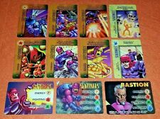 OVERPOWER Sentinels SET 3 hero 8 sp Nimrod Master Mold Learning Circuits 7I