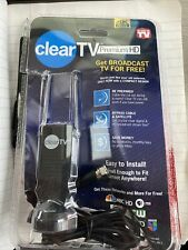 Clear TV Premium HD Digital Antenna 4k Ready Free TV. Used