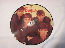 """The Beatles  7""""   Color Picture disc-LOVE ME DO/P.S. LOVE YOU"""