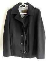 Schott Bros. wool-blend type N-5A pea coat, Sz S
