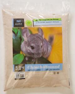 5 kg Chinchillasand Kleintier Nager Badesand Sand Degu Spezialsand Chinchilla