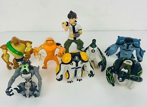 Ben 10 Bundle Job Lot Action Figures Mixed Collection as Pictured