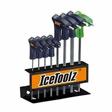 Ice Toolz Pro Shop Hex/Allen and Torx Key Set 2-8mm, T25 With Wall Mount NEW