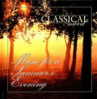 In Classical Mood - Music For A Summer's Evening - Hardcover Book + Music CD NEW